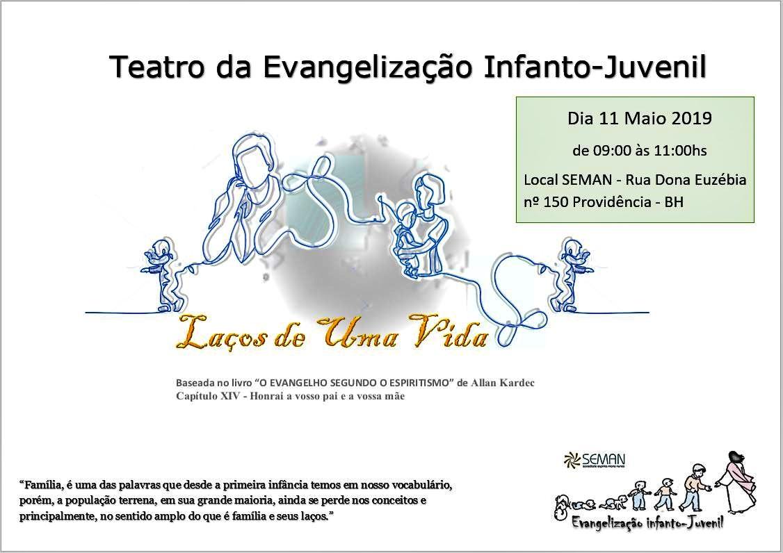 teatro evangelização