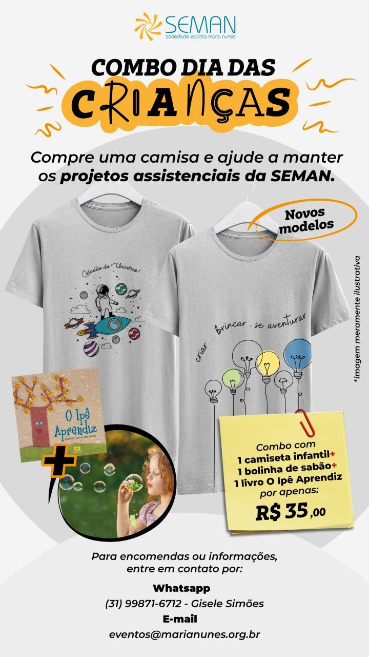 camiseta dia das crianças
